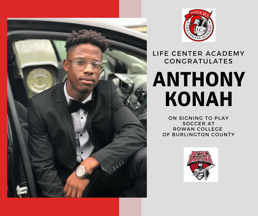 Anthony Konah Letter of Intent