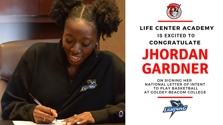 Jhordan Gardner Letter of Intent