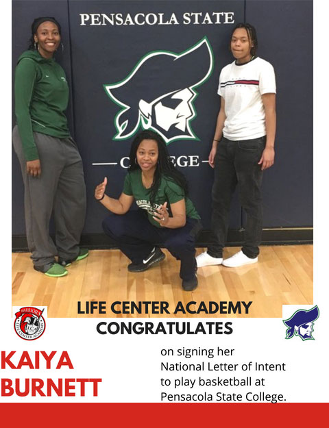 Kaiya Burnett Letter of Intent